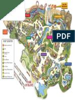Six Flags Fiesta Texas Map