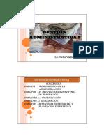 Unidad i Fundamentos de La Administración