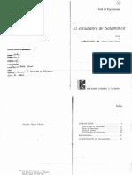 Benito Varela - Introduccion Al El Estudiante de Salamanca - 20 Copias