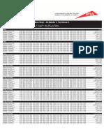 F23 — Stadium Metro Station to Al Nahda 1, Terminus Dubai Bus Service Timetable