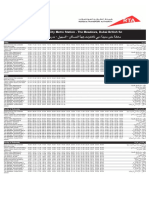 F31 — Dubai Internet City Metro to the Meadows Dubai Bus Service Timetable