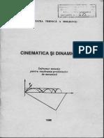 Cinematica si Dinamica