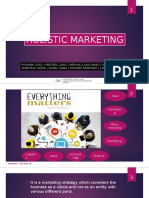 Holistic Marketing & Other Concepts