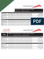F55 — Ibn Battuuta Metro Station to Al Maktoum Airport Dubai Bus Service Timetable