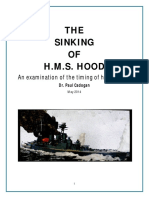 HMS Hood-sinking-Timing of the Fatal Hit by Paul Cadogan