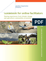 FAO Guidebook for Online Facilitators (CC Series)