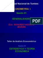 1_ Clase -General Econometria