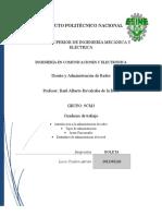 Administración y Estandares de La Red Cuaderno de Trabajo NEW1