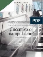 Incentivo o Manipulación
