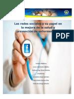 Redes Sociales y La Salud