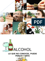 Consumo de Sustancias Psicoactivas