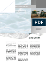 Ensymm Biofuel Production Abstract