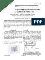 44 - Doondi Kumar - Design and Analysis of Monopole