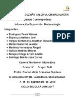 Exposicion Biotecnologia
