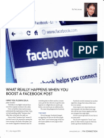 What Really Happens When You Boost a Facebook Post