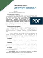 Proyecto Implementación SGC ISO 9001 (1)