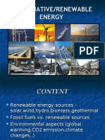 alternative/renewable energy presentation