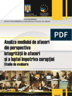 Studiul 2 Strategia Dma Integritate in Afaceri