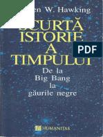 Stephen W. Hawking - Scurta istorie a timpului.pdf