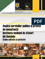 Studiul 3 Strategia Dma Serviciile de Consultan