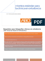 fotografia clinica en ortodoncia requerimientos