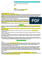 Consejos Interesantes Para Comentario de Texto en Selectividad