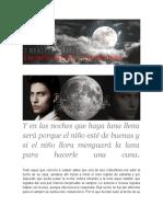 Dime, Luna de Plata,Qué Pretendes Hacer Con Un Niño de Piel. [#WhoReallyIam #Descendants]