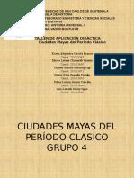 Ciudades Mayas Del Periodo Clásico