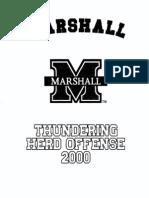 2000 Marshall Offense