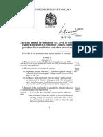 Education Act Amendment 1995
