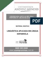 Linguistica Aplicada Ao Espanhol
