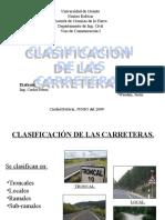 Clasificación de Carreteras de Venezuela