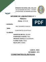Informe 1 - Constantes Elásticas