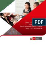 Manual de Regimen Disciplinario Para Directores Instituciones Educativas Públicas