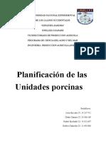 planificacion porcina