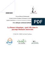 Colloque Lafinanceislamiquequelrledanslepaysagefinanciermarocain 140521004219 Phpapp01