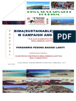 Bima Sustainable Tourism Tour and Campaign