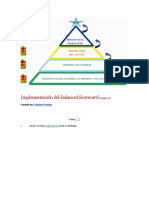 Implementación Del Balanced Scorecard