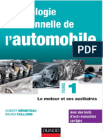 Technologie Fonctionnelle de l Automobile Tome 1