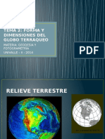 Forma y Dimensiones del Globo Terraqueo