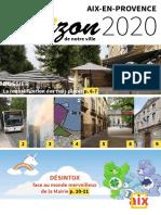Magazine Démocratie pour Aix septembre 2016
