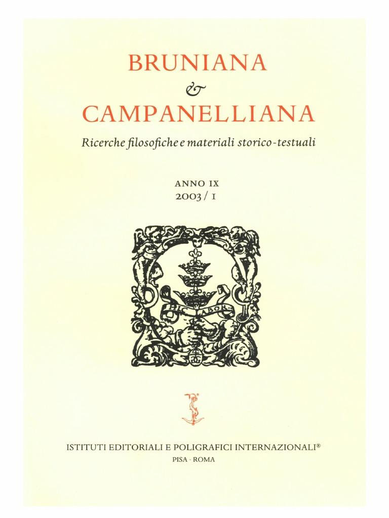 6b5bc85e019835 Bruniana   Campanelliana Vol. 9, No. 1, 2003.pdf
