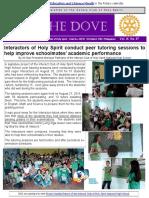 RC Holy Spirit THE DOVE Vol. IX No. 07 September 6, 2016