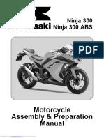 Kawasaki Ninja 300 Assembly Manual