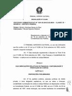 TSE Resolucao 23464 2015 Contabilidade Dos Partidos