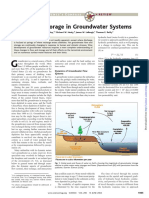Flow and StorageFlowAndStorageInGroundwaterSystems in Groundwater Systems