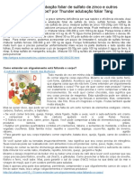 Como Fazer Adubação Foliar de Sulfato de Zinco e Outros Oligoelementos