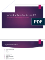 MSCI 343 - Introduction to Axure RP - Tutorial