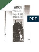 História Da Saúde Pública No Brasil - Claudio Bertolli Filho