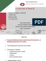 Cafral Basel III